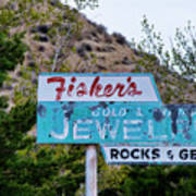 Fisher's Jewelry Poster