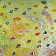 Fishes And Coral Poster