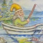 Fishing Around Poster