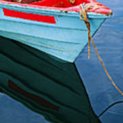 Fishing Boat-1-st Lucia Poster