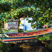Fishing Boat At Rest  Poster