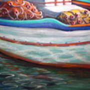 Fishing Boatgreek  Poster