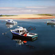 Fishing Boats-cape Cod Poster