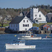 Fishing Harbor Poster