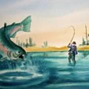 Fishing Montana Poster