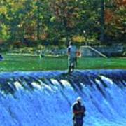 Fishing The Spillway 2 Poster