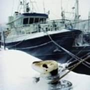 Fishing Trawler, Howth Harbour, Co Poster