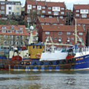 Fishing Trawler - Whitby Poster