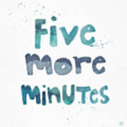 Five More Minutes Poster