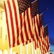 Flag Congress Hall Cape May Nj Poster