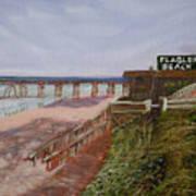 Flagler Beach Pier 1 Poster