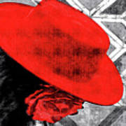 Flamenco Girl Poster