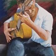 Flamenco Guitar Poster
