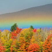 Flat Rainbow Poster