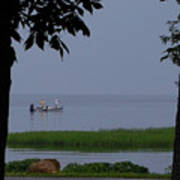 Flat Water Fishing Poster