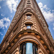 Flatiron Building Nyc Color Poster