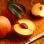 Flavorcrest Peaches Poster