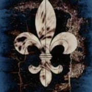 Fleur De Lis Poster