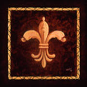 Fleur De Lys-king Charles Vii Poster