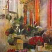 Fleuriste Poster