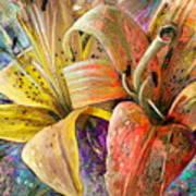 Fleurs De Lys 01 Poster