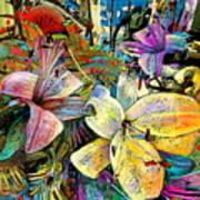 Fleurs De Lys 02 Poster