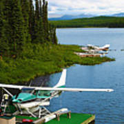 Float Planes Poster