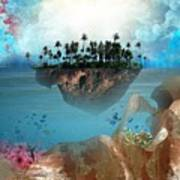 Floating Island Poster