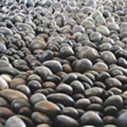 Floor Of Rocks Poster
