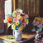 Floral Arrangements Poster