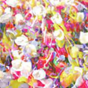 Floral Art Clvii Poster