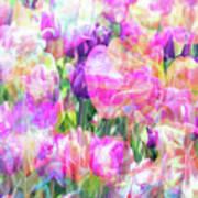 Floral Art Cx Poster