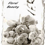 Floral Beauty Poster