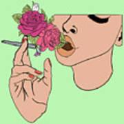 Floral Emission Poster