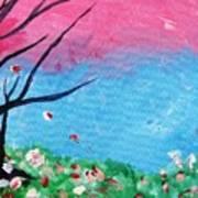 Floral Fragrance Poster