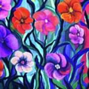 Floral No. 1 Poster by Jeanette Stewart