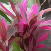 Floral Pastel Poster by Tom Prendergast