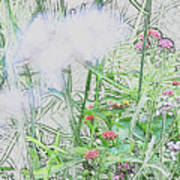 Floral Sketch Poster