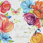 Floral Symphonie Poster