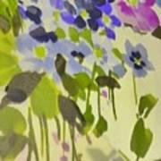 Floral Vines Poster