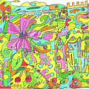 Floral World Poster