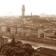 Florence Italy Wide Poster