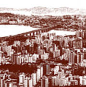 Florianopolis Downtown Poster