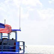 Florida Keys Patriot Poster