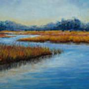 Florida Marsh Poster