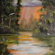 Florida Thunderstorm Poster