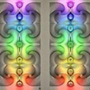 Flow - Stereogram Poster