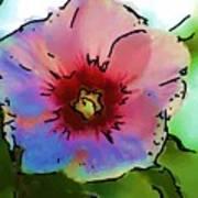Flower 8-15-09 Poster