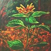 Flower Branch Poster