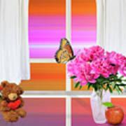 Flower Color Poster
